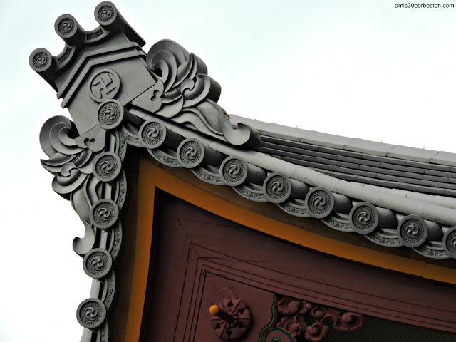 Símbolo Manji en el Templo Sensoji de Asakusa, Tokio