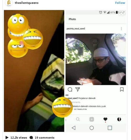Chat mesum 'Ulat Bulu' Dan Video Seorang Yang Mengaku Ulama Beredar