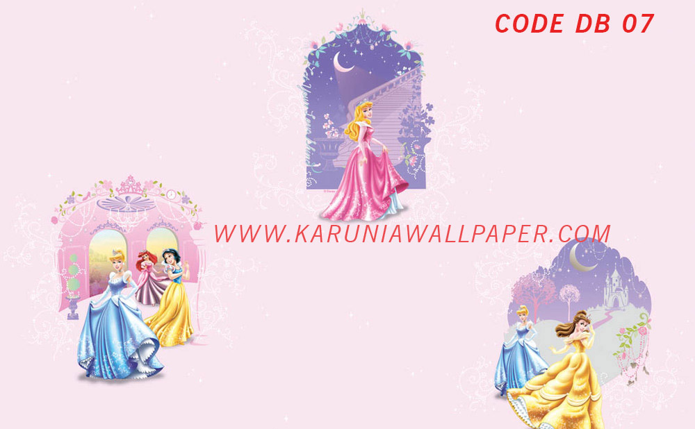 jual wallpaper princess toko karuniawallpaper