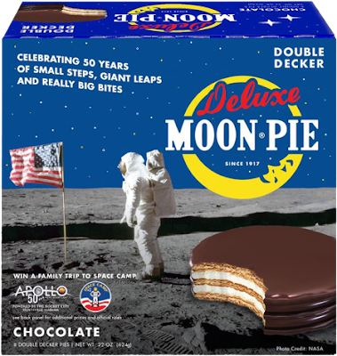 MoonPie is celebrating 50 years of small steps, giant leaps and really big bites by giving away a family adventure to attend Space Camp!