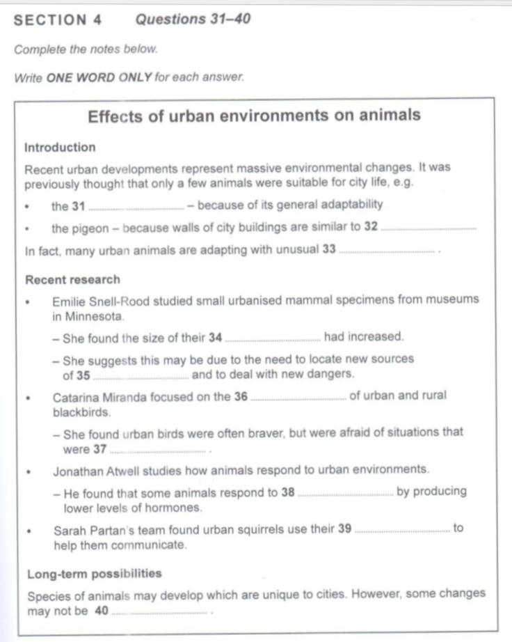 cambridge ielts 8 listening test 1 pdf