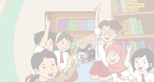 Jilid atau Cover  Buku Siswa Kelas 6 Kurikulum 2013