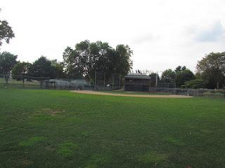 Center to home, Carl E. Stotz Field