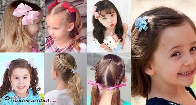Model Rambut Anak Perempuan Terbaru, Cute & Lucu