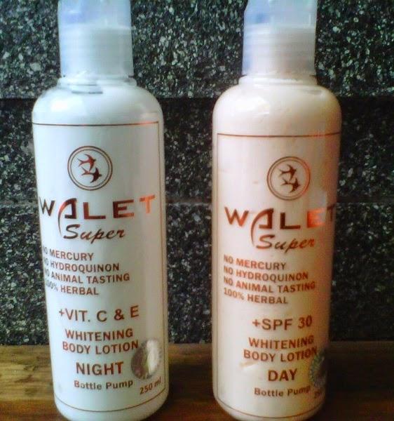 Walet Body Lotion Untuk Kulit Putih Cerah Lembut Siang dan Malam