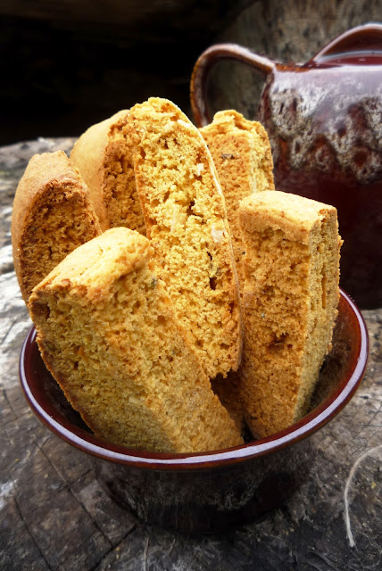 Mango and Mixed Nuts Biscotti These eggless and vegan Mango and Mixed Nuts Biscottis are so easy to prepare,flavoured with mango pulp, crunchy and delicious biscottis are hard to resist.