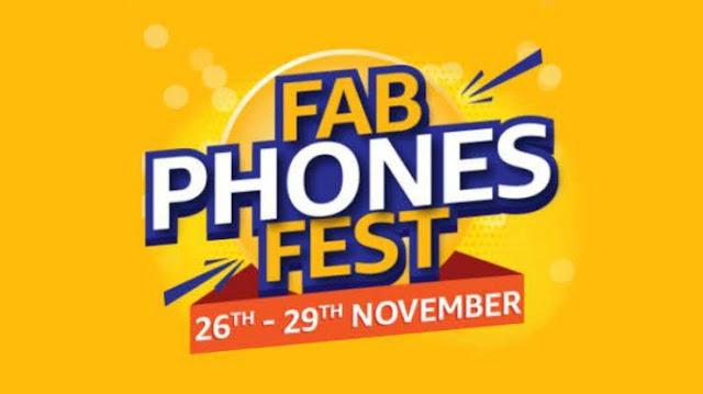 Amazon Fab Phones Fest 2019 Sale