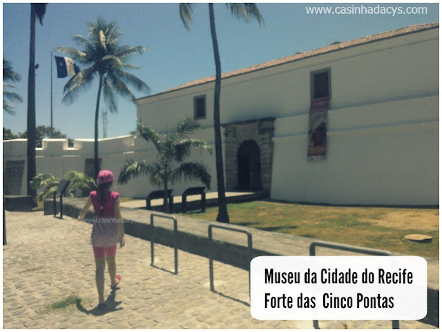 Museu da Cidade no Forte das Cinco Pontas