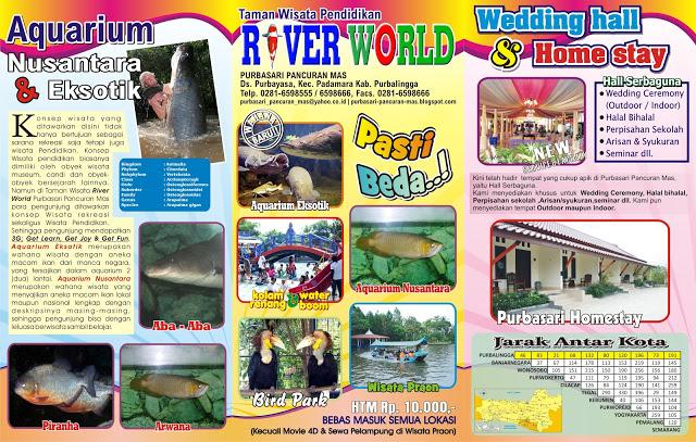 Harga Tiket Purbasari Aquarium Kabupaten Purbalingga, Jawa Tengah