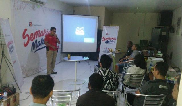 Polres Biak Gelar Sosialisasi Anti Hoax di PT Surya Madistrindo