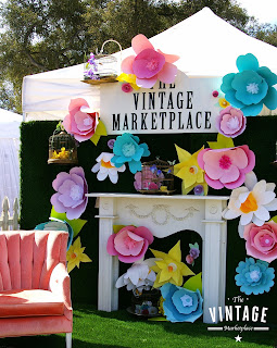 spring, retail, winery, pop up shop, show booth, vintage show, boutique, visual merchandising, display, vignette, spring decor, spring displays, Debi Ward Kennedy