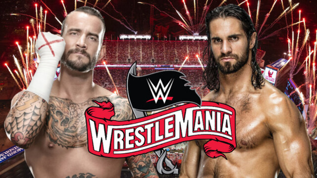 Seth Rollins talks about Match with CM Punk at Wrestlemania 36
