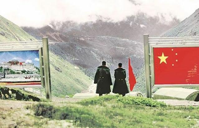 गलवान को चीन ने बताया अपना हिस्सा