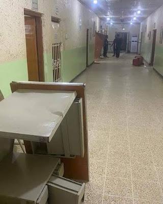 صلاح الدين.. اعتقال 4 أشخاص حطموا أثاث مستشفى بسبب وفاة مريضهم