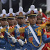 Sekilas Potret Pasukan TNI AD pada Peringatan HUT ke-74 Kemerdekaan RI