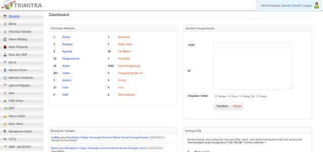 Sofware Aplikasi Web SISTEM INFORMASI PENDIDIKAN