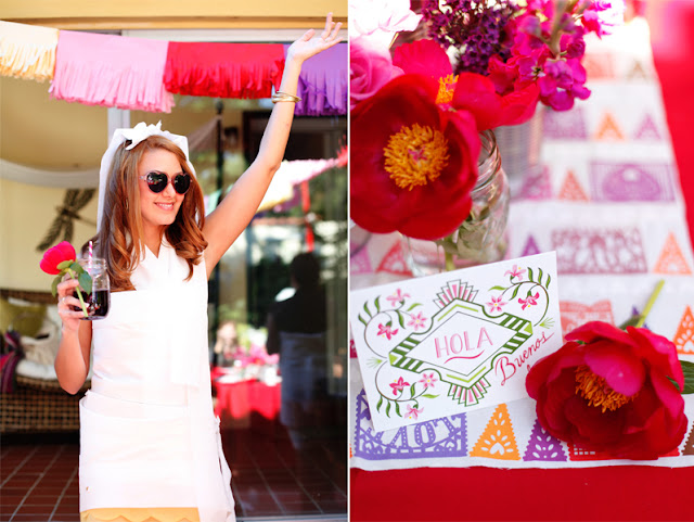 A fiesta style bridal shower is a fun and festive way to celebrate your upcoming wedding. You'll love the inspiration from this guest feature.