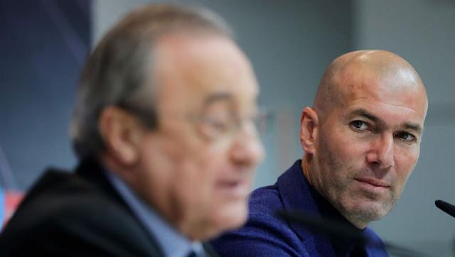 La vraie raison du départ de Zinédine Zidane du Real Madrid