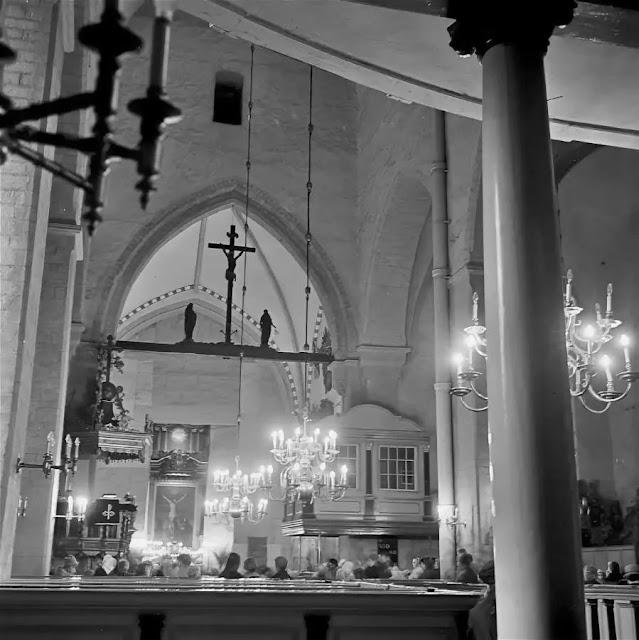 1966 год. Рига. В Домском соборе