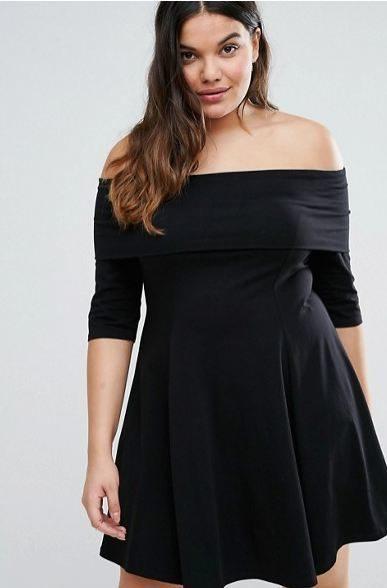 vestido de noche gorditas