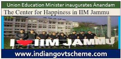 Happiness in IIM Jammu