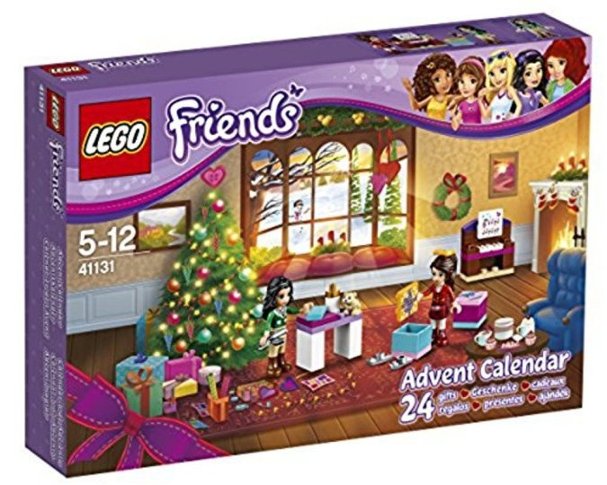 Calendario de Adviento Lego Friends