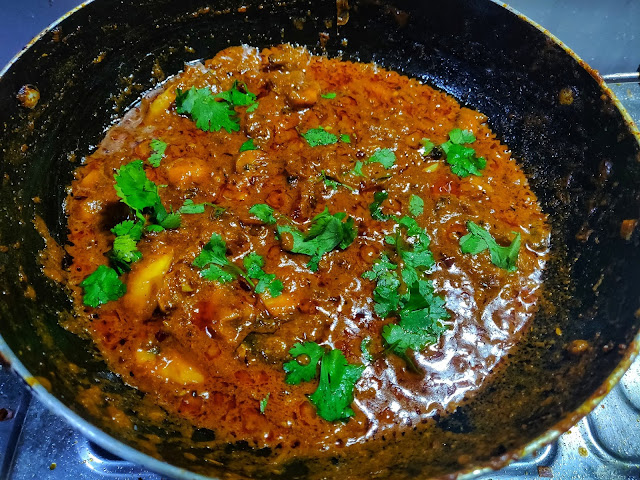 simple mushroom curry recipe