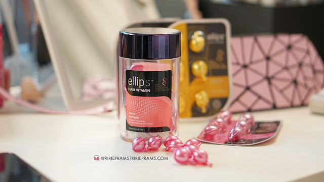 review hair vitamin ellips - ririeprams