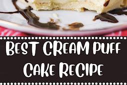 BEST CREAM PUFF CAKE RECIPE