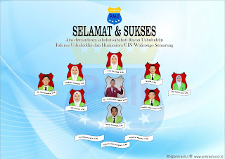 Selamat dan sukses atas diwisudanya sahabat-sahabati Rayon Ushuluddin, Universitas Islam Negeri Walisongo Semarang. Semoga Ilmu yang didapatkan semassa perkuliahan bermanfaat serta senantiasa berkhidmat mengamalkan Nilai-nilai Dasar Pergerakan (NDP).