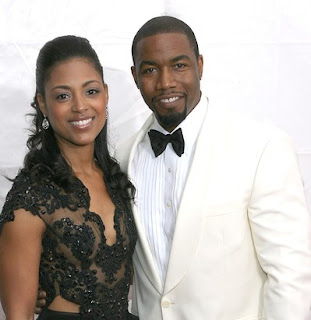 Gynecologist, Courtenay Chatman with her ex-husband Morgan Michelle White