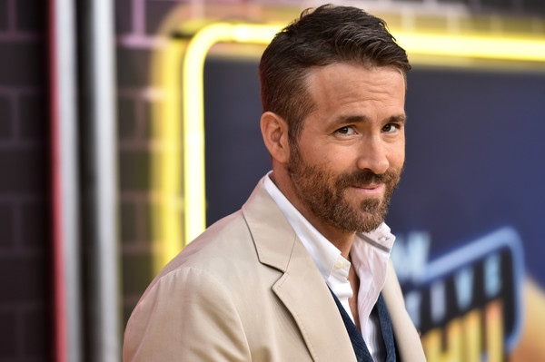Ryan Reynolds attends the premiere of Pokemon Detective Pikachu at Military Island in Times Square on May 2, 2019 in New York City
