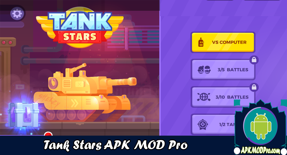 Download Tank Stars MOD APK v1.4.6 (Unlimited Money) Latest Version 2020