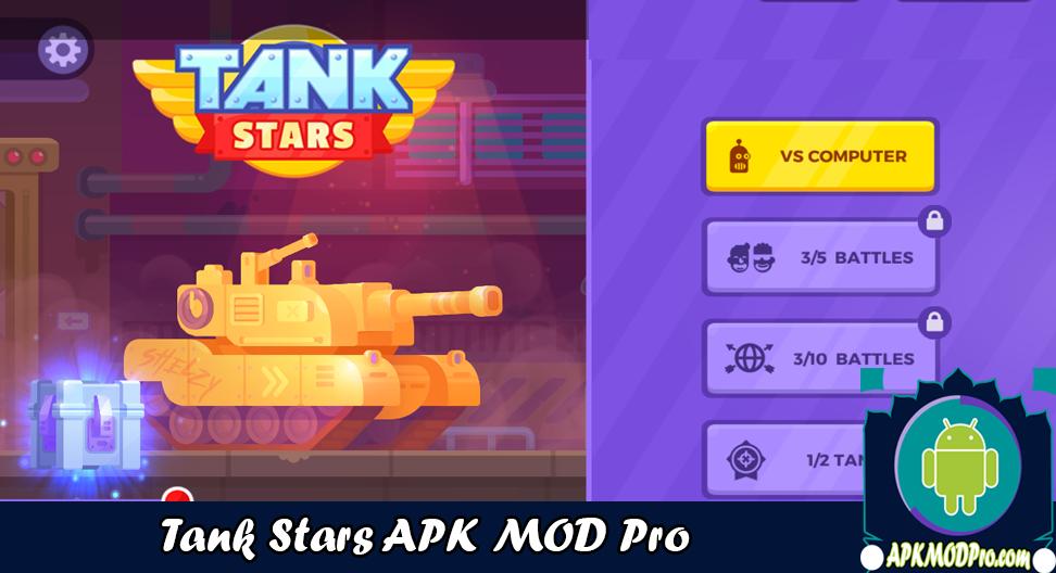 Download Tank Stars MOD APK v1.4.6 (Unlimited Money) Latest Version 2020
