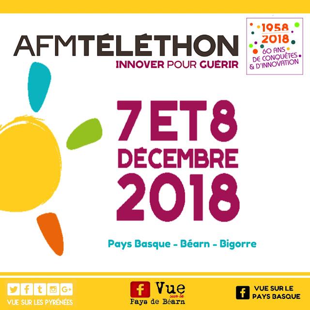 Téléthon Béarn Pays Basque Bigorre 2018