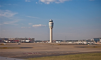 Atlanta Air Traffic Control Tower (Georgia USA)