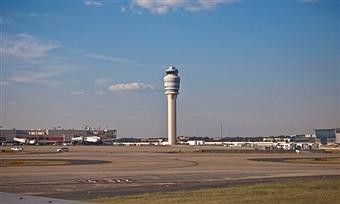 Atlanta Air Traffic Control Tower (Georgia USA)