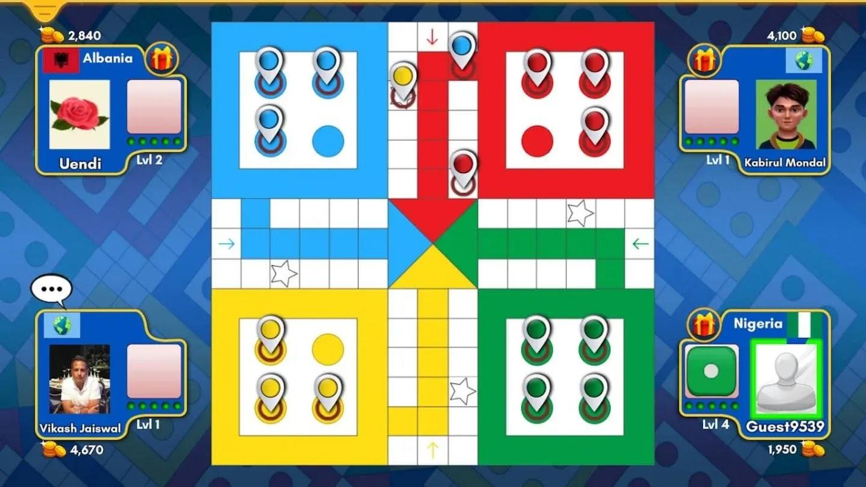 أنت تبحث عن لعبة يمكن لعبها مع أصدقائك وعائلتك ، وهي لعبة سهلة التعلم حقًا وسهلة اللعب ومناسبة لجميع الأعمار ، أعتقد أن Ludo King مناسبة جدًا.