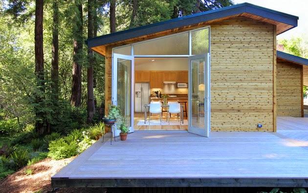 Desain Rumah Sederhana dengan Dinding Kayu - Rancangan Desain Rumah Minimalis & Desain Rumah Sederhana dengan Dinding Kayu - Rancangan Desain ...