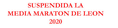 Suspendida la Media de Leon 2020