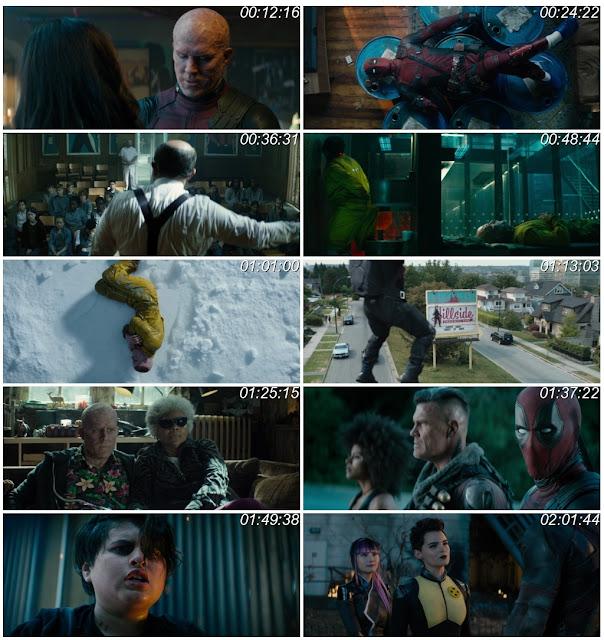 Deadpool 2 2018 ORG Dual Audio 1080p Bluray