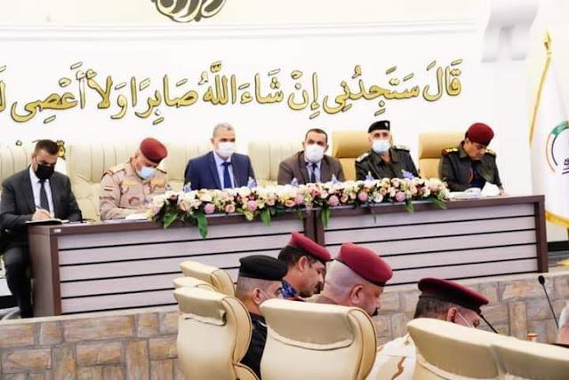 وزير الداخلية العراقي يهنىء القوات الامنية بذكرى النصر   ويشيد بجهودهم