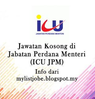 Jawatan Kosong di Jabatan Perdana Menteri (ICU JPM)