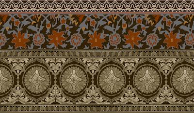 Saree-border-textile-print
