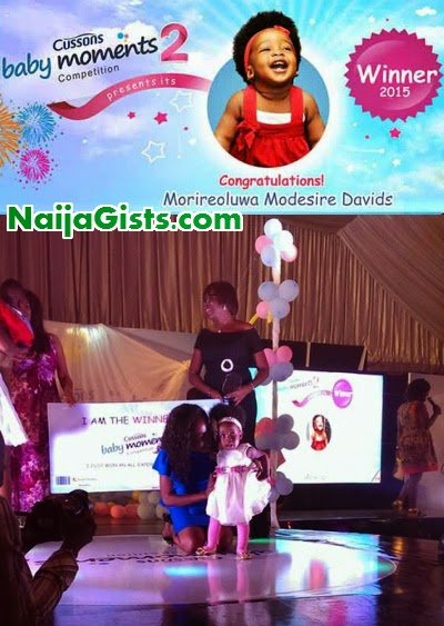 cussons baby moments 2015 winner