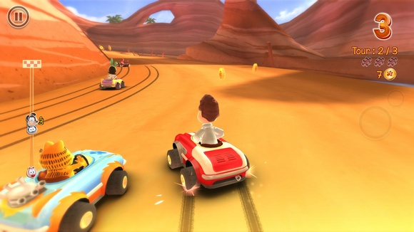Join Garfield and his friends in the funniest fast and fur Garfield Kart-SKIDROW