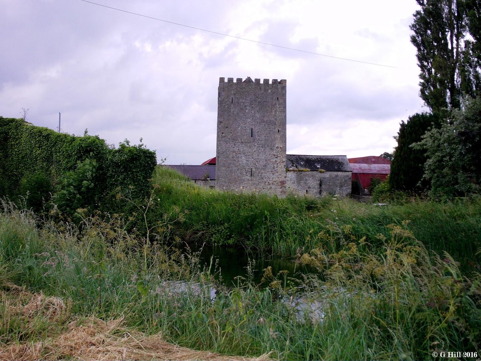 Ireland in ruins ballyteague castle co kildare for Kildare castle