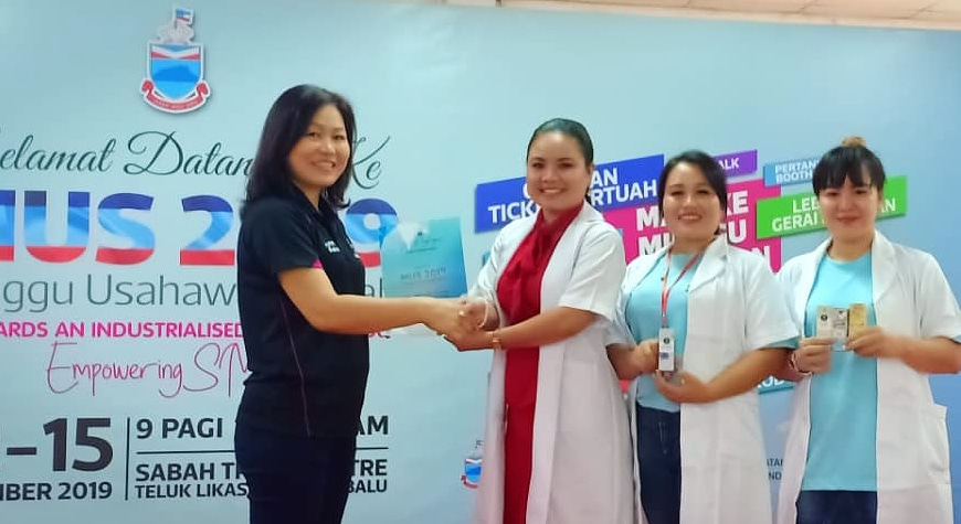 Norcy Beautylab Menang Kategori Produk Terbaik Sempena Minggu Usahawan Sabah
