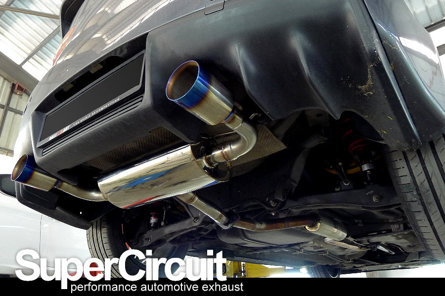 Mitsubishi Lancer 20 With Transverse Muffler Twinexhaust Tips Custom Exhaust Setup See Below Is One Of The Popular Options: 2015 Lancer Exhaust At Woreks.co