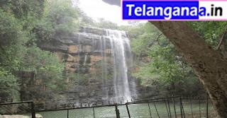 Waterfall Mallela Theertham in Telangana